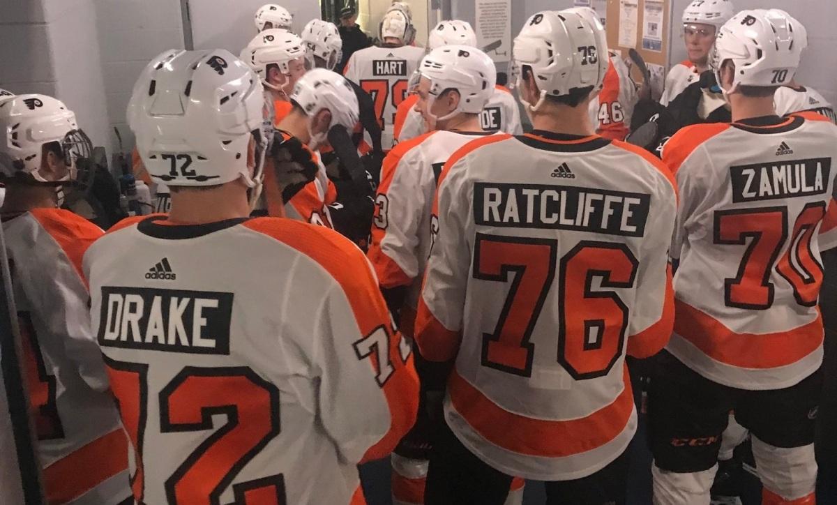 0352e46f Recap: Flyers Top Islanders in Rookie Showdown; 6-3